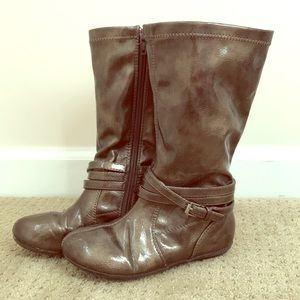 Nordstrom Rack zip up boots size 12